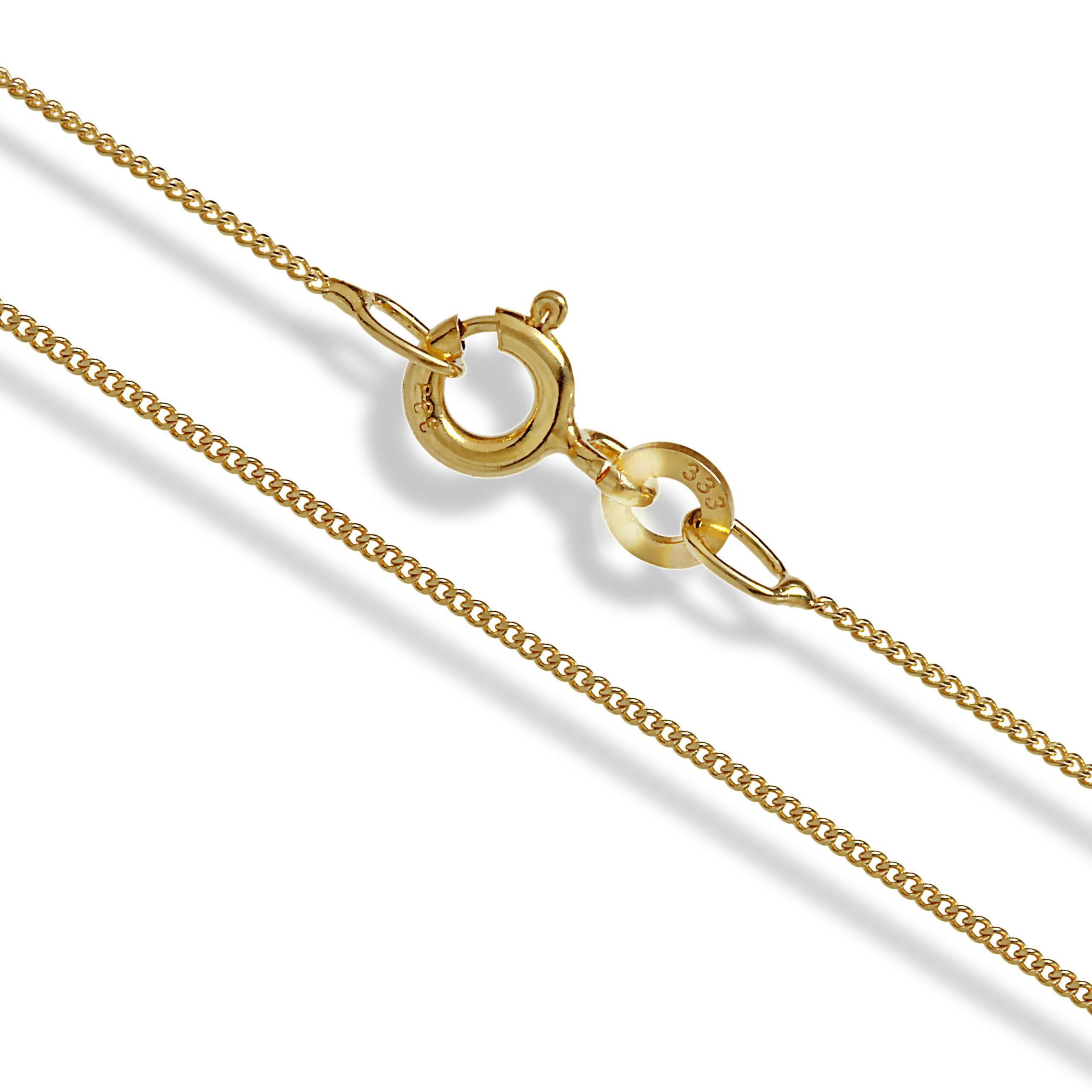 Goldkette damen hochzeit  Königskette Gold Double, 4 mm quadratisch, 45 cm, Halskette ...